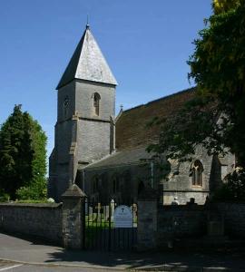 holy trinity church in Walton