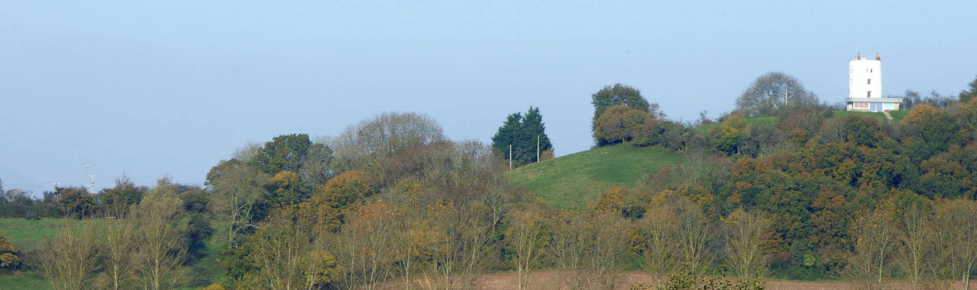 wide image of Walton windmill